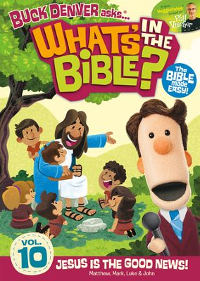 What's In The Bible DVD Series Volume 10: Review & Giveaway!