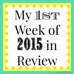My Week in Review