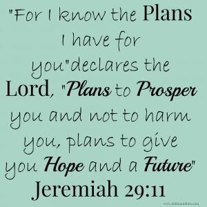 Jeremiah 2911 Bible Verse