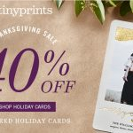 Tiny Prints Thanksgiving and Black Friday Deals