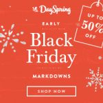 DaySpring Black Friday Sale – 30% off everything! (see details)