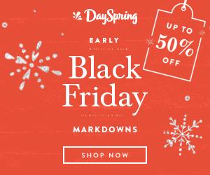 DaySpring Black Friday Sale – 30% off everything! (see details)