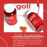 Goli Gummies 1-Day Sale 11/10 – 11/11 (25% off 3 and 5 bottle Packs)